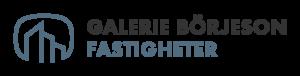 Logotyp Galerie Börjeson Fastigheter